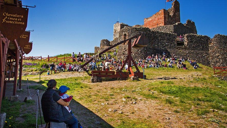 Le château de Calmont d'Olt ouvrira dès le vendredi 21 mai