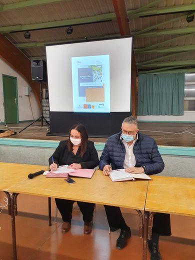 """La convention d'adhésion à """"Petites Villes de demain"""" a été signée."""