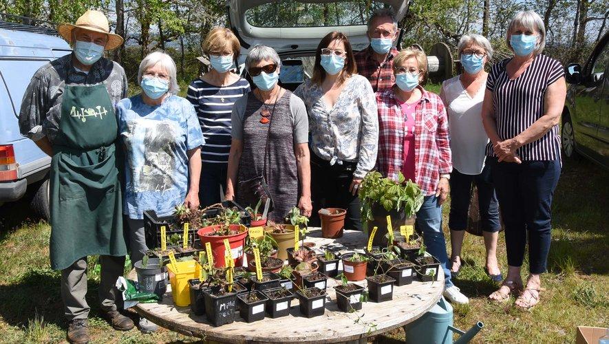 """Un bon moment entre """"jardiniers"""" et passeurs de biodiversité."""