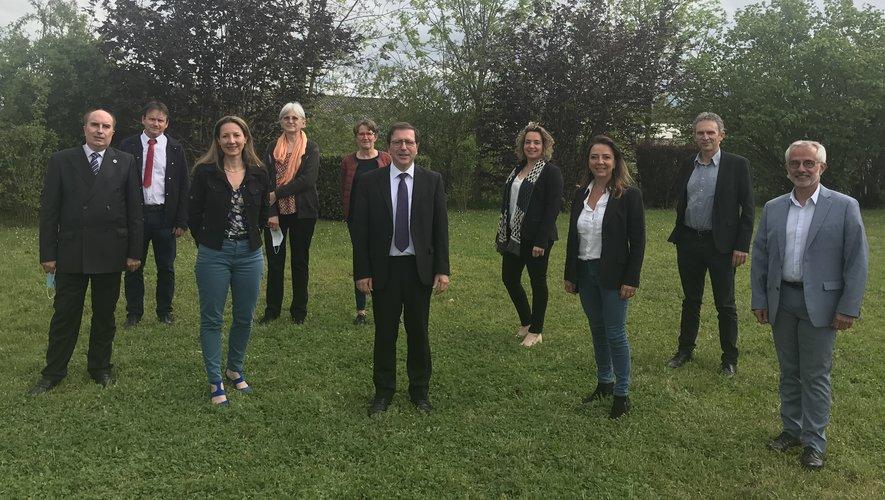 Le maire d'Onet, qui mènera la liste départementale LR-UDI a annoncé ses neuf colistiers.