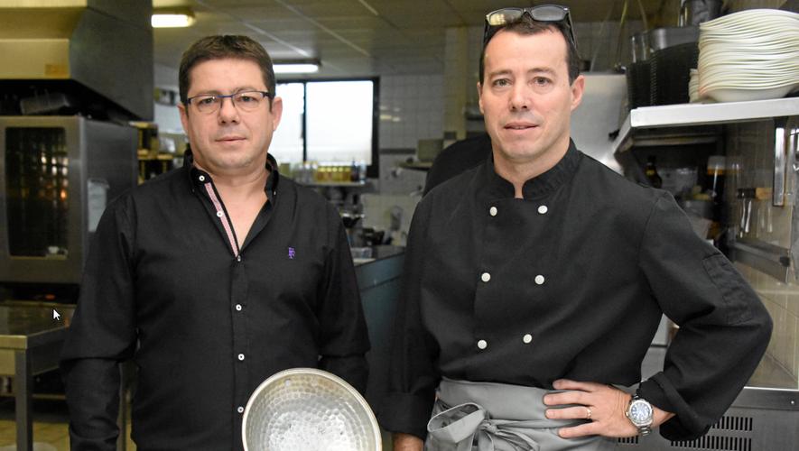 Georges et Michel Santos.