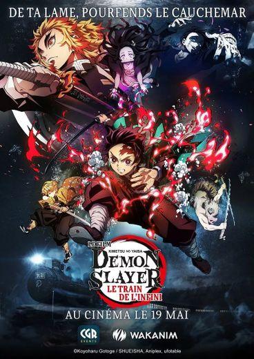 """Le manga """"Demon Slayer"""" s'apprête à débarquer sur grand écran en France, avec des préventes qui s'envolent déjà une semaine avant la réouverture des salles de cinéma."""