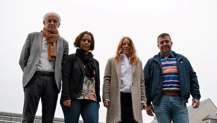 Les binômes de la majorité ruthénoise Jean-Michel Cosson-Nadia Abbou et Christophe Lauras-Martine Bezombes, face-à-face… Jusqu'au 27 juin ou plus tard ?