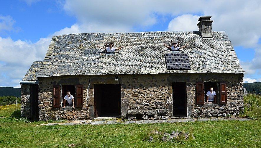 L'Aubrac, terre d'accueil, à l'instar du buron des 4 frères.
