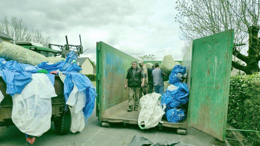 La collecte des plastiques agricoles,  un bon moyen de préserver l'environnement en milieu rural.