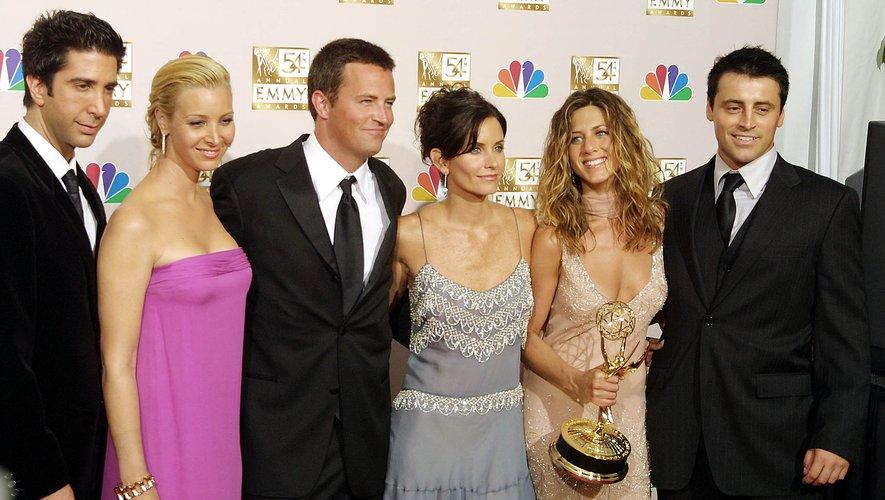 """L'épisode spécial de """"Friends"""", qui verra les retrouvailles des six amis de la série après 17 ans d'absence, sera mis en ligne sur la plateforme HBO Max le 27 mai."""