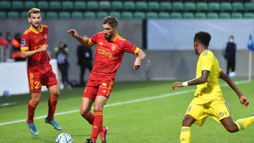 Après trois saisons au club, Aurélien Tertereau va quitter Rodez sans pouvoir disputer un dernier match.