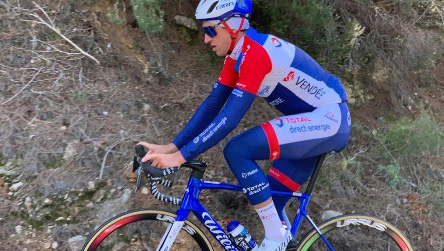 """Le coureur ruthénois fait partie de la """"nouvelle"""" équipe alignée dimanche au Tro Bro Leon."""