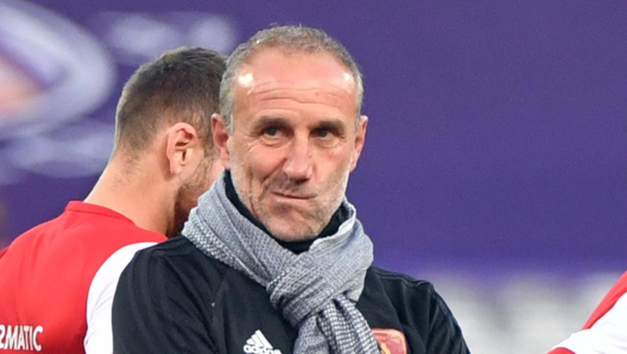 Laurent Peyrelade, entraîneur de Rodez.