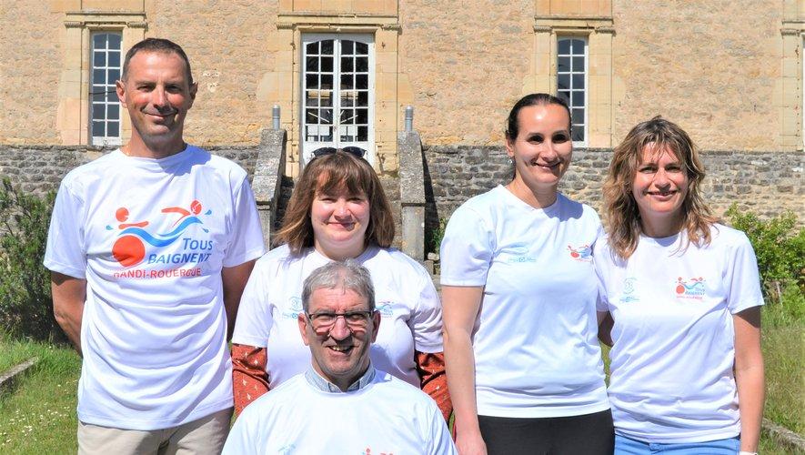 """Les bénévoles de l'association """"Tous baignent Handi Rouergue"""" vous attendent samedi 22 mai à Rieupeyroux."""