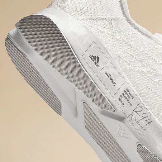 "La ""FutureCraft.FootPrint"" issue du partenariat entre adidas et Allbirds."
