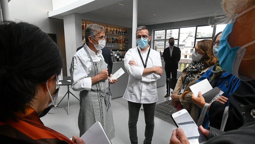 Le pari gourmand de Michel et Sébastien Bras