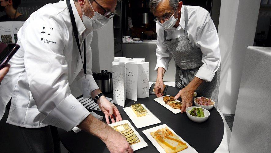 Avec Michel et Sébastien Bras aux manettes, la Halle aux grains promet de régaler les gourmets dès le 10 juin.