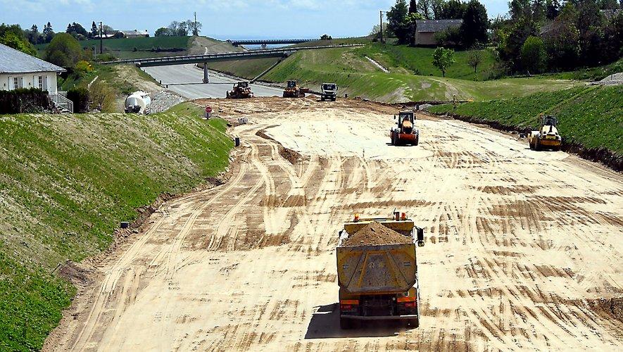 Le dossier du chantier de la RN88 va durer pendant encore quelques années.