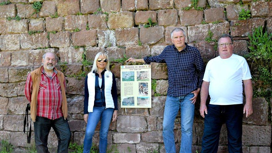 À Nauviale, des bénévoles font revivre le site de Beaucaire