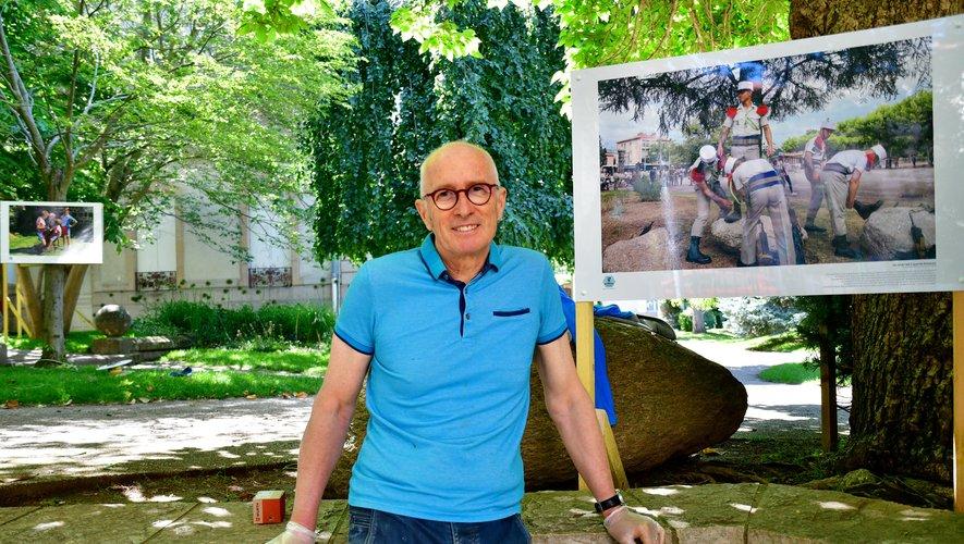 Comme en 2019, Gilles Bertrand va exposer, pendant tout l'été dans les jardins de la mairie de Millau.Photo archives ML