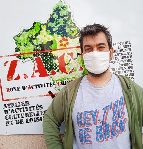 Sébastien Boscus, fondateur et animateur de la Zac.