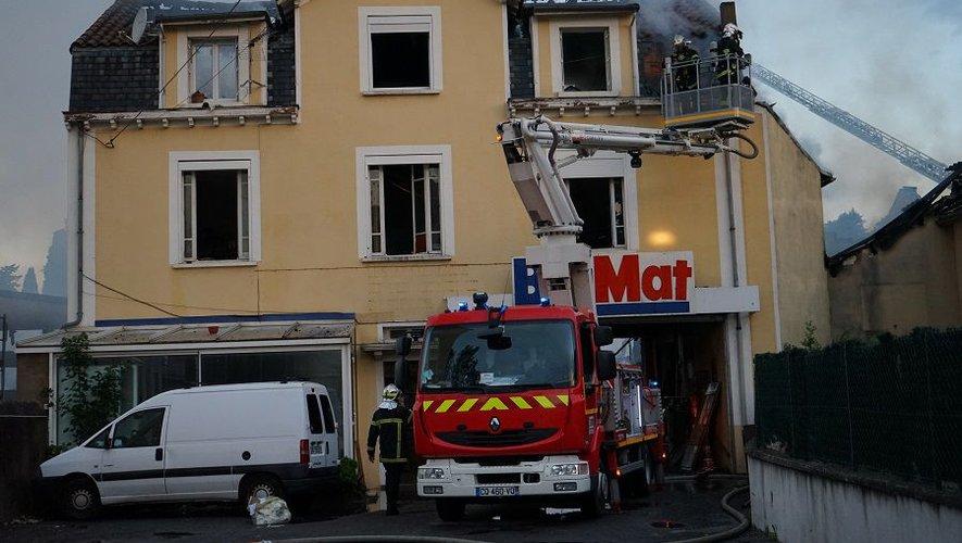 58 pompiers sont intervenus sur l'incendie.