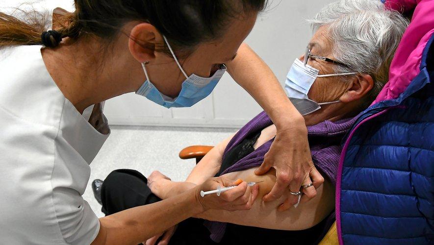 Pour la seule journée de jeudi, le centre de vaccination d'Onet-le-Château a accueilli plus de 1 200 personnes.