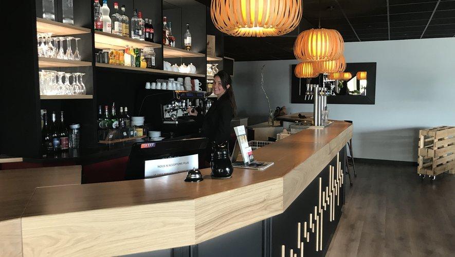 Aude Berthier dirige l'hôtel-restaurant depuis sept ans.