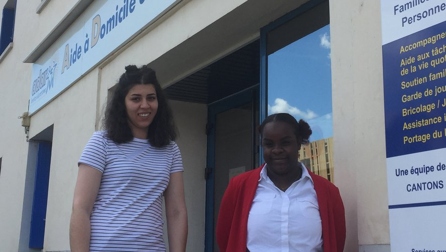 Sabrina Boucherit et Fatima Hamada Babou, les référentes des actions collectives de l'Adar.