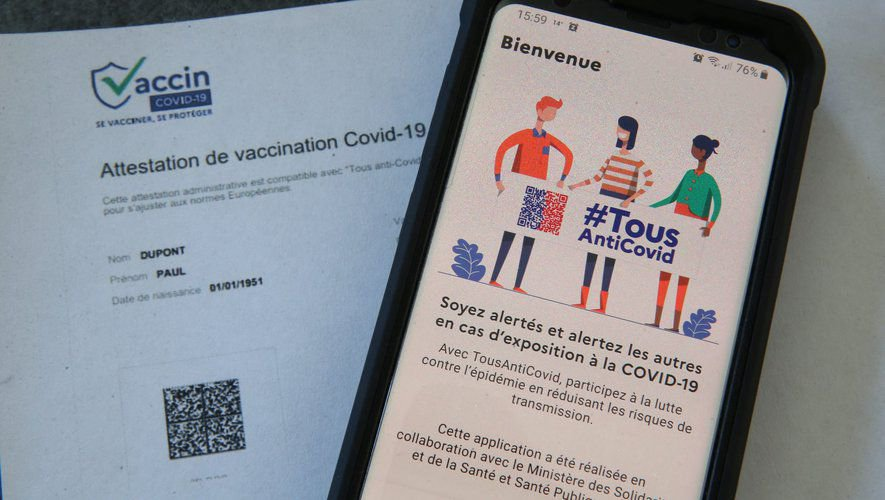 Le pass sanitaire, disponible via l'application TousAntiCovid, entre en vigueur ce mercredi 9 juin.