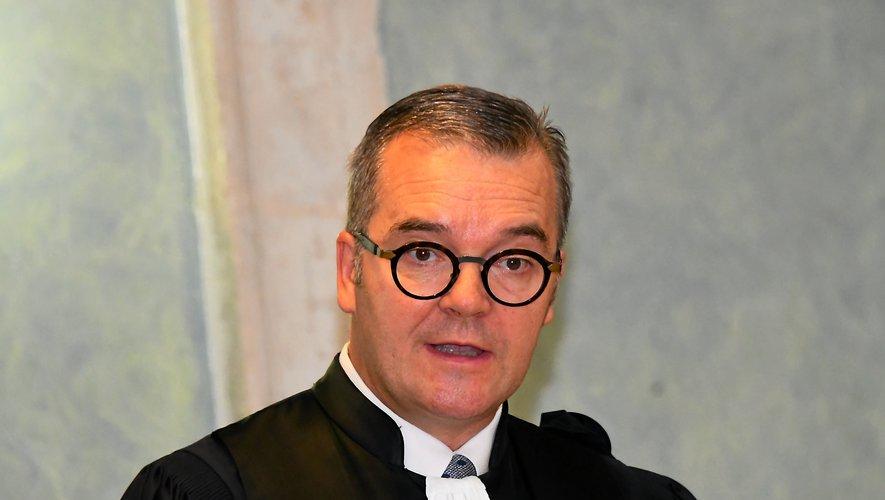 Dans un communiqué,  Olivier Naboulet demande  la création d'un cinquième poste au parquet de Rodez.