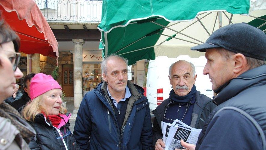 Philippe Poutou était déjà venu à Millau en 2017.