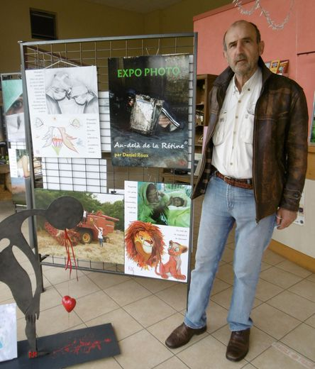Daniel Roux sera présent à la Maison de la vigne ce samedi 12 juin pour le vernissage de son exposition. Il dédicacera aussi son ouvrage.