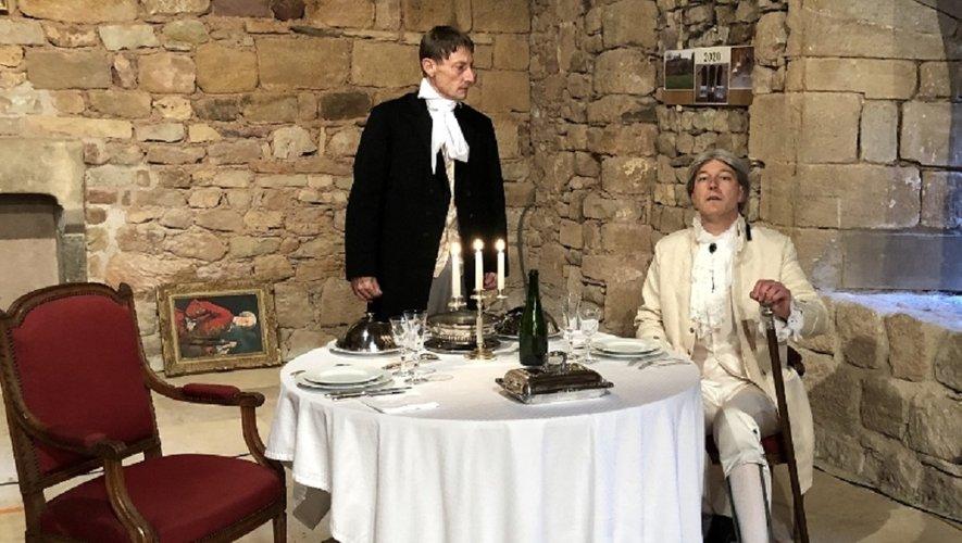 Les deux comédiens joueront dans  le magnifique cadre du Prieuré.