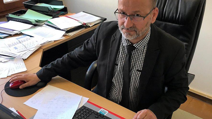 Jean-Michel Orlhac, directeur du Campus des métiers à Rodez.