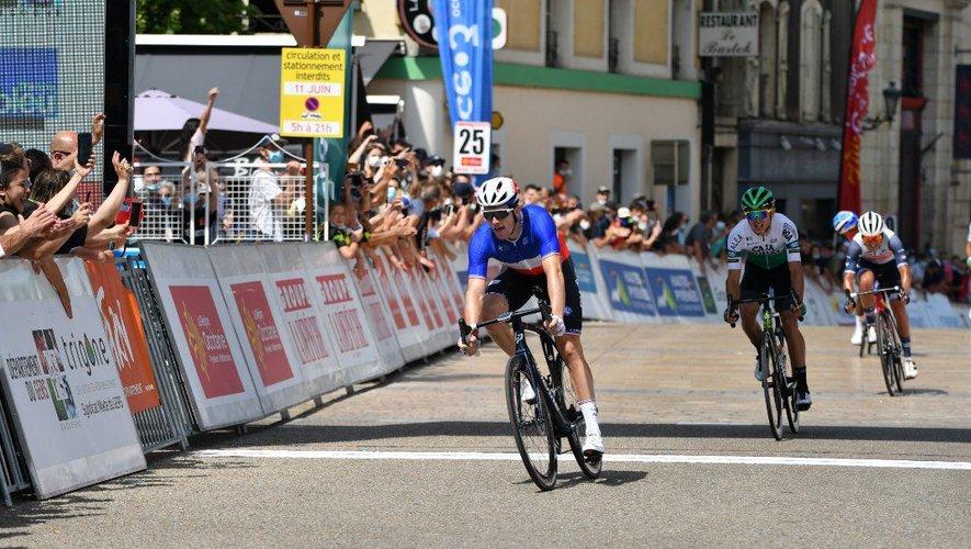 Arnaud Démare vainqueur à Auch.