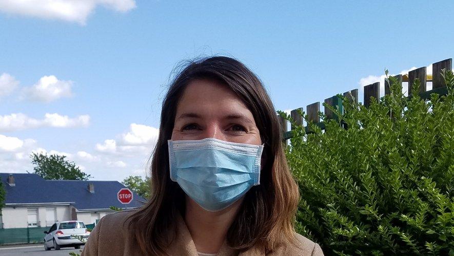 Amélie Castanier vient d'ouvrir son cabinet de psychologie à Rieupeyroux.