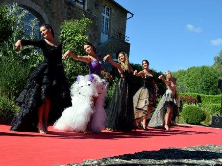 Les Miss Midi-Pyrénées ont assuré le show tout l'après-midi, aux côtés des candidates aveyronnaise.