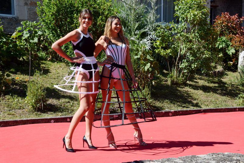 Axelle Breil (Miss Midi-Pyrénées 2018) et Emma Arrebot-Natou (Miss Midi-Pyrénées 2020).