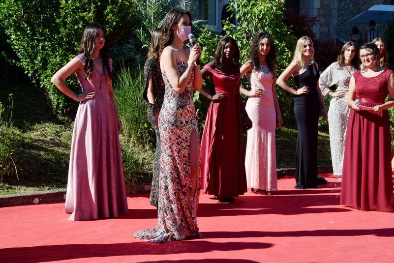 Amandine Alcouffe, organisatrice en chef de l'élection Miss Aveyron.