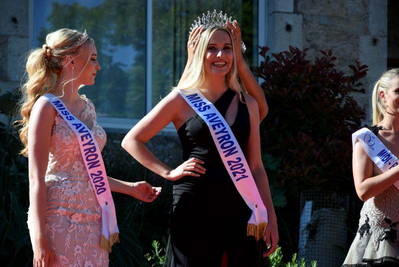 Laura Perucchietti, Miss Aveyron 2021.