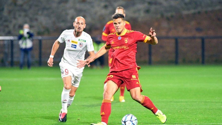 David Douline était un joueur majeur de l'équipe ruthénoise lors des trois dernières saisons.