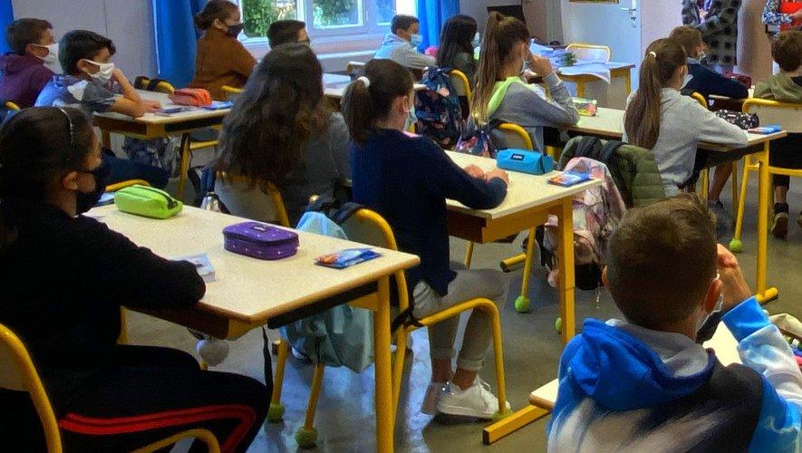 Six classes sont toujours fermées en Aveyron.