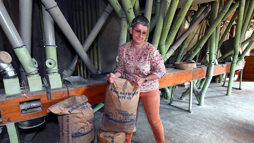 Au moulin de Coudoustrines, l'art de moudre la farine locale à la carte