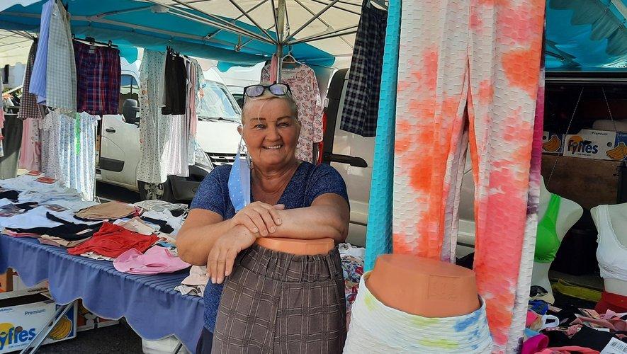 Odette, une figure du marché decazevillois.