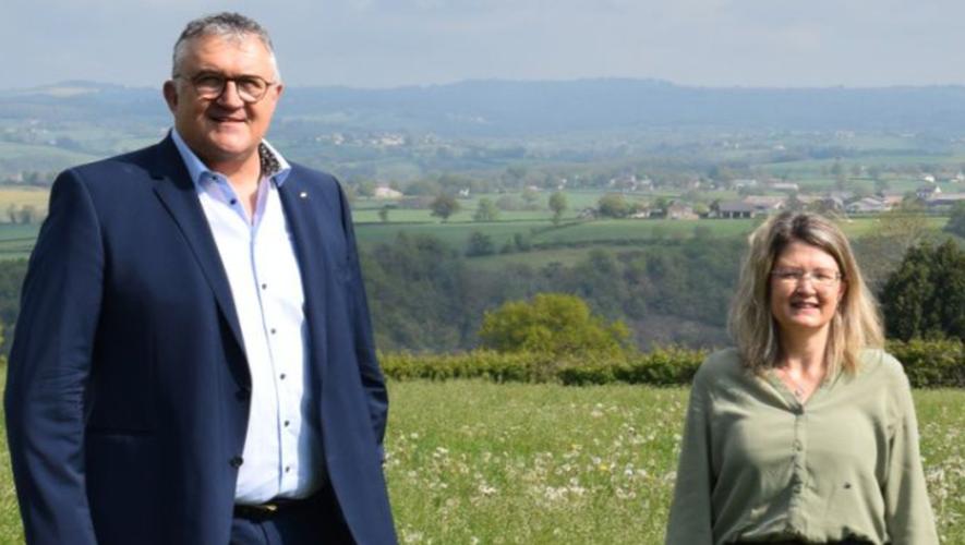 Jacques Barbezange et Virginie Firmin, élus au premier tour ce dimanche.