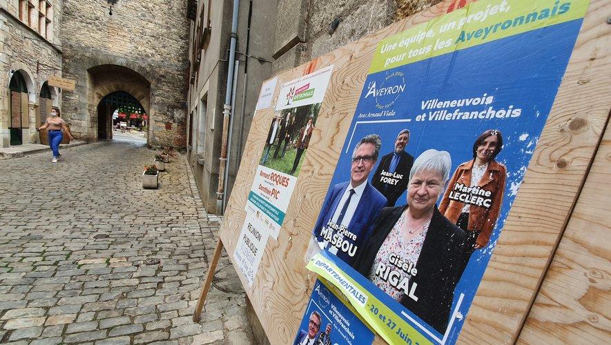 Seulement deux binômes étaient en course sur le canton du Villeneuvois et Villefranchois.