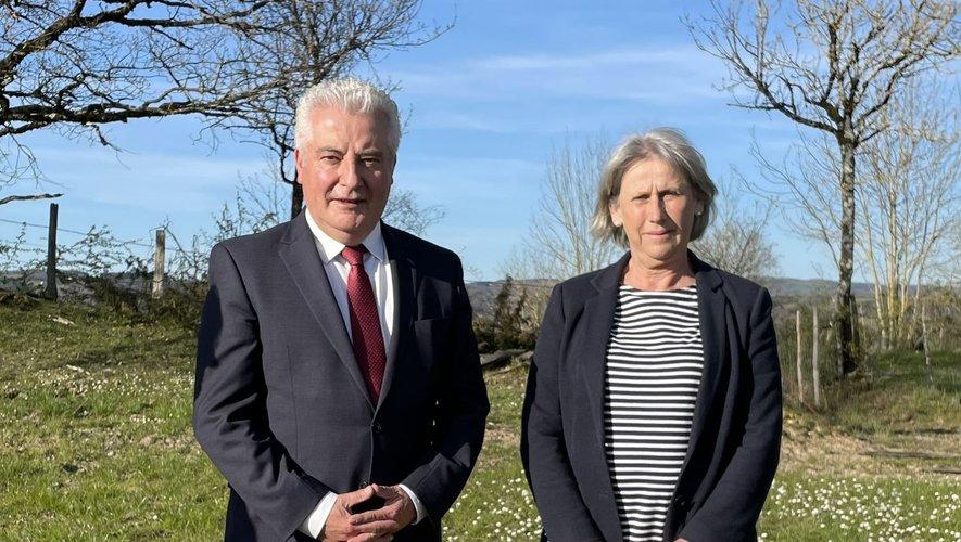 Les deux élus repartent pour  un nouveau mandat au conseil départemental.