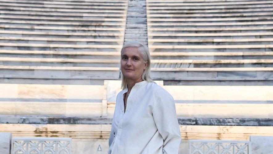 """""""L'idée de pouvoir revenir au défilé physique nous rend optimiste"""", déclare Maria Grazia Chiuri, styliste de Dior femme."""