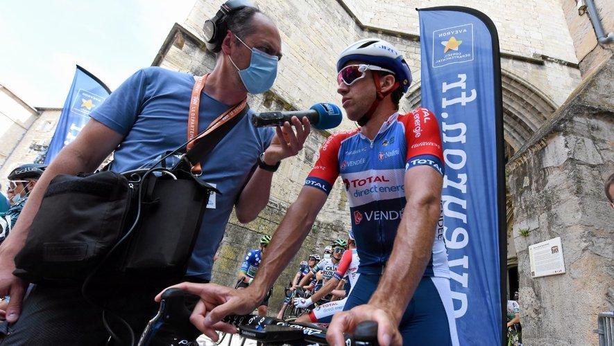 Alexandre Geniez lors de la Route d'Occitanie, au départ de Villefranche-de-Rouergue le 11 juin dernier.