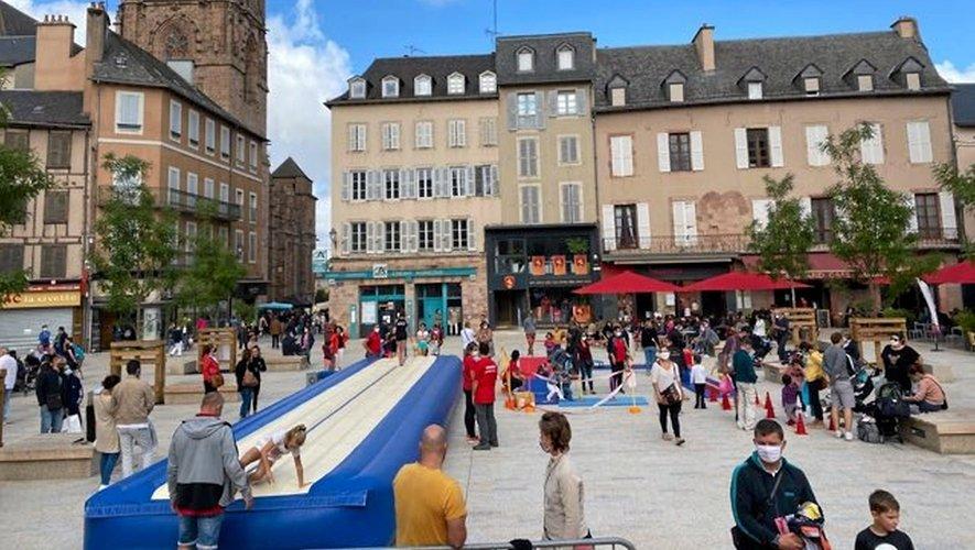 """""""Gym en ville"""" sur la place de la Cité ce samedi."""