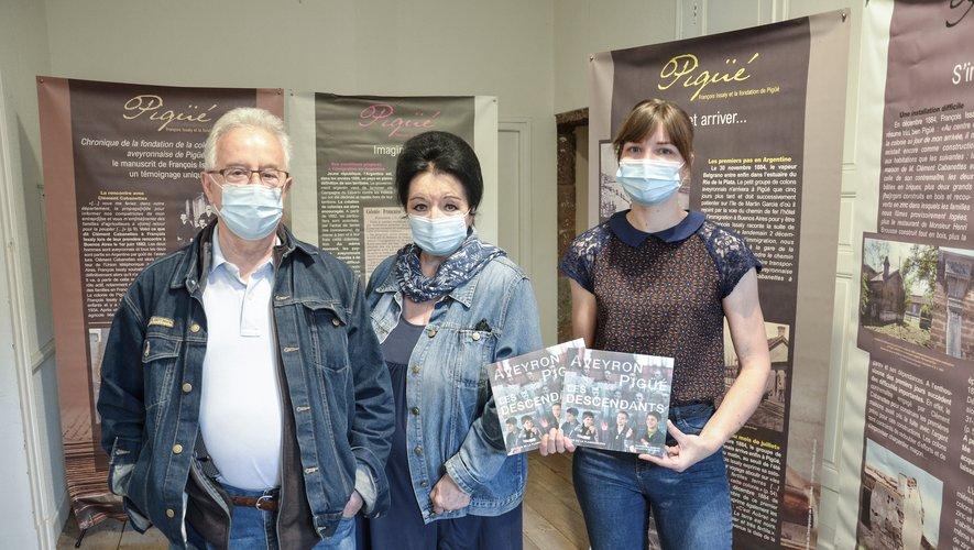 """L'exposition """"Des Aveyronnais en Argentine"""" visible jusqu'au 29 septembre."""