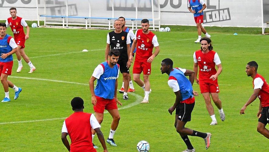 Les Ruthénois ont repris l'entraînement depuis le 15 juin.