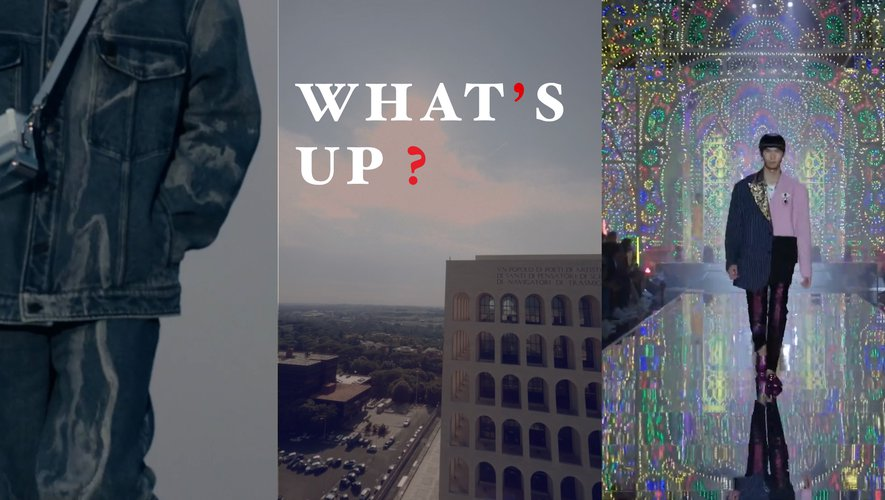 What's Up - Milan Homme Printemps/Eté 2022 avec Fendi, Dolce & Gabbana et Prada